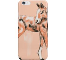 Foal Peach iPhone Case/Skin