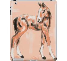 Foal Peach iPad Case/Skin