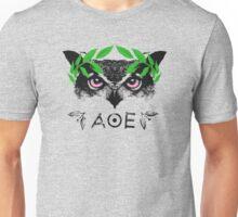 Athena's Owl II - Green Variant Unisex T-Shirt