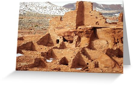 Wupatki National Monument by Susan Russell