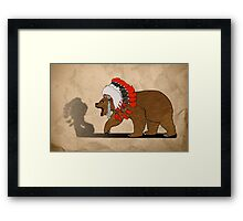Bear Chief Framed Print