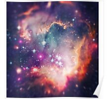 The Universe under the Microscope (Magellanic Cloud) Poster