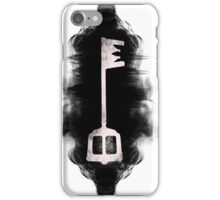 Kingdom hearts keyblade, the light in the darkness iPhone Case/Skin