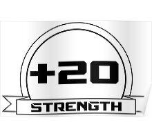 + 20 Strength Poster