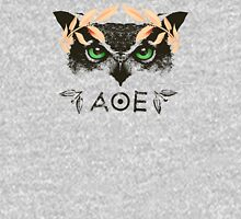 Athena's Owl II - Rose Gold Variant Womens Fitted T-Shirt