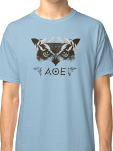 Athena's Owl II - Silver Variant Classic T-Shirt