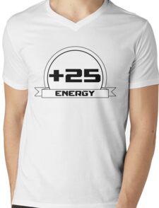 +25 Energy Mens V-Neck T-Shirt