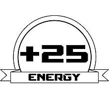 +25 Energy Photographic Print