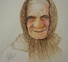 Old lady from Russia by Noel78