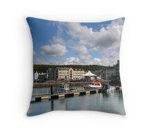 harbour whiteheaven Throw Pillow
