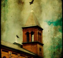Crows And The Old Church by gothicolors