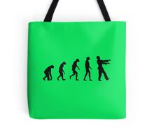 Evolution of Zombies (Zombie Walking Dead) Tote Bag