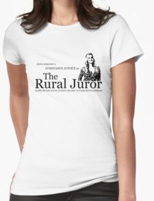 The Rural Juror Womens Fitted T-Shirt