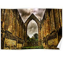 Bolton Abbey Nave. Poster