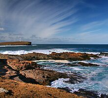 The Brough of Birsay, Orkney, at high tide by Aidan Semmens
