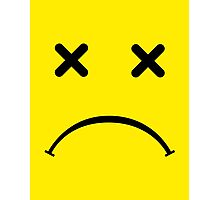 Sad Smiley - After Party Photographic Print
