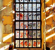 Window to the Outside World by Bev Woodman