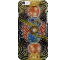 Solar prayer iPhone Case/Skin