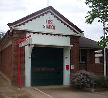 Cowra 270 Fire Station by roybob