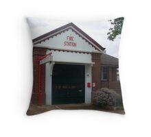 Cowra 270 Fire Station Throw Pillow