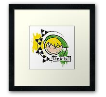 The Legend of Zelda: Link-182 (UPDATED) Framed Print