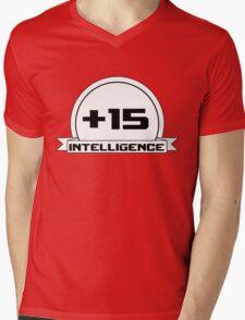 +Intelligence Mens V-Neck T-Shirt
