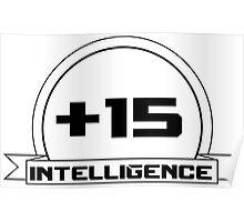 +Intelligence Poster