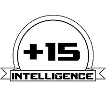 +Intelligence Photographic Print