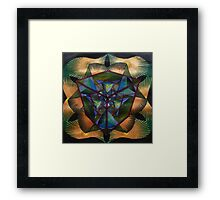 Dimensional Cosmosynthesis Framed Print