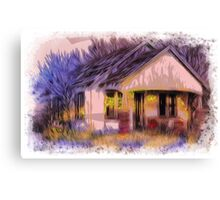 Home Forgotten   Canvas Print