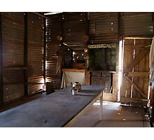 Homestyle living in Gwalia, ghost town near Leonora Photographic Print