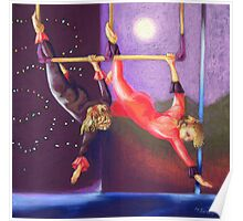 trapeze girls Poster