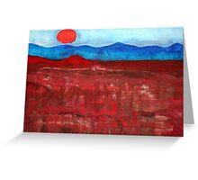 Anza-Borrego Vista original painting Greeting Card