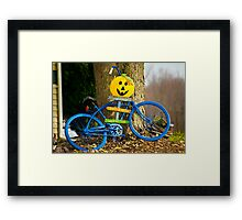 Autumn Greetings Framed Print
