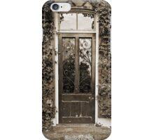The Door To Darwin's Down House iPhone Case/Skin