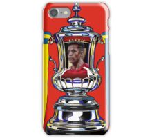 Alexis Sanchez / 2015 FA Cup Winners iPhone Case/Skin