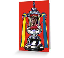 Alexis Sanchez / 2015 FA Cup Winners Greeting Card