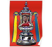 Alexis Sanchez / 2015 FA Cup Winners Poster
