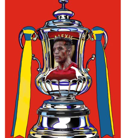 Alexis Sanchez / 2015 FA Cup Winners Sticker
