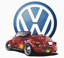 Volkswagen Love Bug One Piece - Short Sleeve