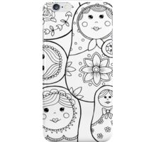 Russian nesting dolls iPhone Case/Skin