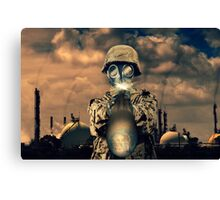 Climate Shooter Canvas Print