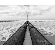 Pipeline Photographic Print
