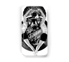 Fight For The Freedom To Love {/w Rays} Samsung Galaxy Case/Skin