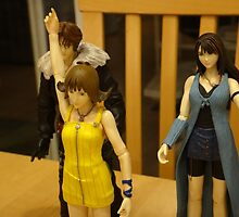 Squall & Friends: Fun With Action Figures by EmeraldLatias
