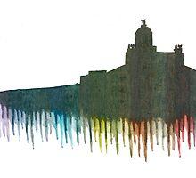 Stoer Head Lighthouse, Nr Lochinver by Pamela Stirling