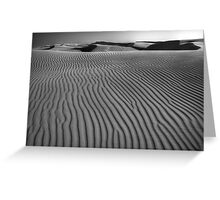 Waves of Sand Greeting Card