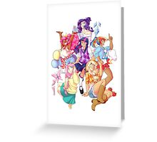 Humanized MLP Transparent Greeting Card