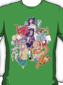 Humanized MLP Transparent T-Shirt