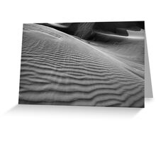 Wind, Lines & Texture Greeting Card